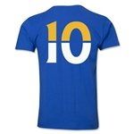 Leicester City Player Number 10 T-Shirt (Royal)