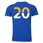 Leicester City Player Number 20 T-Shirt (Royal)