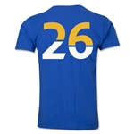 Leicester City Player Number 26 T-Shirt (Royal)