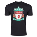 Liverpool Crest Men's Fashion T-Shirt (Black)