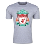 Liverpool Crest Men's Fashion T-Shirt (Gray)