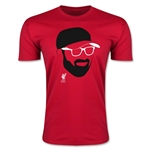 Liverpool Klopp Face Men's Fashion T-Shirt (Red)