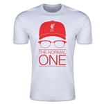 Liverpool The Normal One Men's Fashion T-Shirt (White)