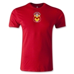 Morelia Monarcas Small Logo Men's Fashion T-Shirt (Red)