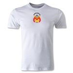 Morelia Monarcas Small Logo Men's Fashion T-Shirt (White)