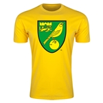 Norwich City Core Men's Fashion T-Shirt (Yellow)
