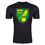 Norwich City Core Men's Fashion T-Shirt (Black)