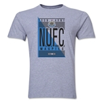 Newcastle United NUFC Men's Fashion T-Shirt (Gray)