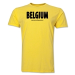 Belgium Powered by Passion T-Shirt (Yellow)