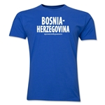 Bosnia-Herzegovina Powered by Passion T-Shirt (Royal)