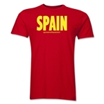 Spain Powered by Passion T-Shirt (Red)