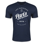 Paris Saint-Germain Circle Script T-Shirt (Navy)