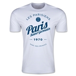 Paris Saint-Germain Circle Script T-Shirt (White)