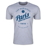 Paris Saint-Germain Circle Script T-Shirt (Gray)