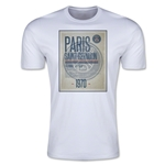 Paris Saint-Germain Poster T-Shirt (White)