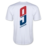 Paris Saint-Germain Cavani Player T-Shirt (White)