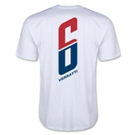 Paris Saint-Germain Verratti Player T-Shirt (White)