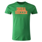 India Soccer Supporter Men's Fashion T-Shirt (Green)