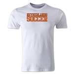 Netherlands Soccer Supporter Men's Fashion T-Shirt (White)