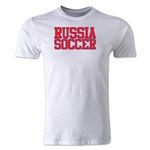 Russia Soccer Supporter Men's Fashion T-Shirt