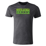 South Africa Soccer Supporter Men's Fashion T-Shirt (Dark Gray)