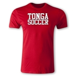 Tonga Soccer Supporter Men's Fashion T-Shirt (Red)