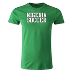 Nigeria Soccer Supporter Men's Fashion T-Shirt (Green)