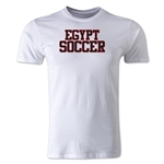 Egypt Soccer Supporter Men's Fashion T-Shirt (White)