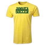 Jamaica Soccer Supporter Men's Fashion T-Shirt (Yellow)