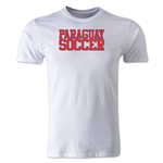 Paraguay Soccer Supporter Men's Fashion T-Shirt (White)