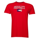 American Samoa Football T-Shirt (Red)