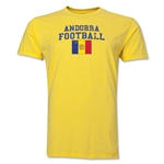 Andorra Football T-Shirt (Yellow)