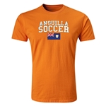 Anguilla Soccer T-Shirt (Orange)