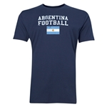 Argentina Football T-Shirt (Navy)