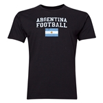 Argentina Football T-Shirt (Black)