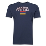 Armenia Football T-Shirt (Navy)