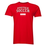 Austria Soccer T-Shirt (Red)