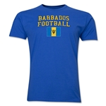 Barbados Football T-Shirt (Royal)