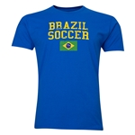 Brazil Soccer T-Shirt (Royal)