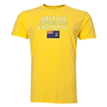 British Virgin Islands Football T-Shirt (Yellow)