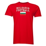 Bulgaria Football T-Shirt (Red)