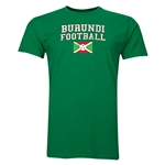 Burundi Football T-Shirt (Green)