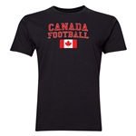 Canada Football T-Shirt (Black)
