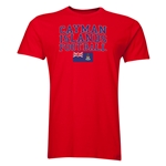 Cayman Islands Football T-Shirt (Red)