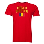 Chad Soccer T-Shirt (Red)
