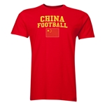 China Football T-Shirt (Red)