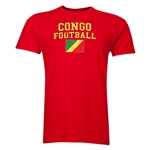 Congo Football T-Shirt (Red)