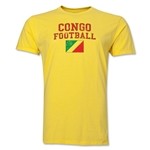 Congo Football T-Shirt (Yellow)