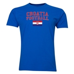 Croatia Football T-Shirt (Royal)
