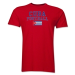 Cuba Football T-Shirt (Red)